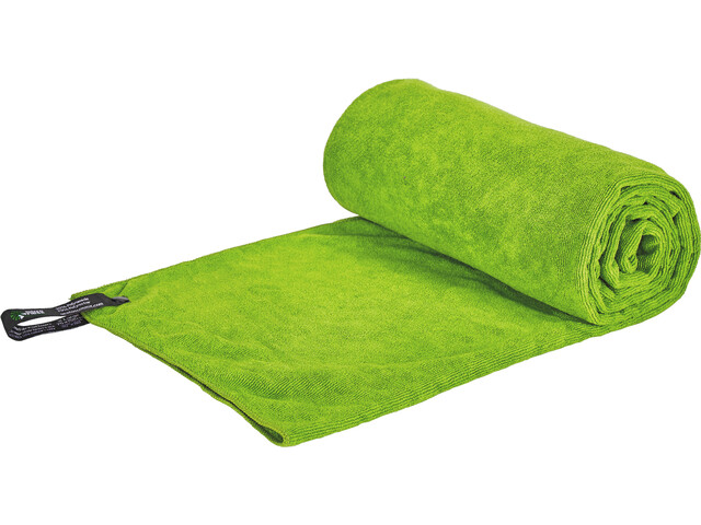Sea to Summit Tek Serviette pour chien XL, lime